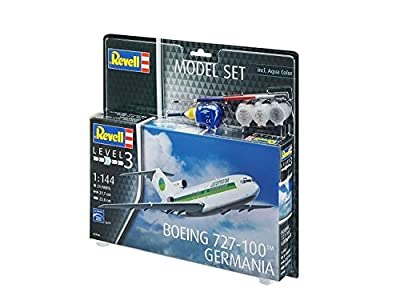 Revell Model Set - 63946 - Maquette Avion Boeing 727-100 Germania