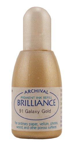 Brilliance Ink Refill .7oz-Galaxy Gold -
