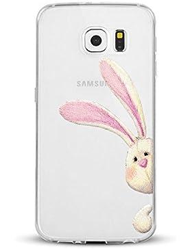 Cover Per Galaxy S7 S6 S6 EDGE Qissy® Morbida Sottile TPU Cover Samsung Galaxy S7 Edge Custodia Bumper Morbida...