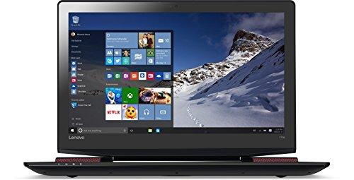 Lenovo Y700 43,9 cm (17,3 Zoll Full HD) Notebook (Intel Core i7-6700HQ Quad-Core Prozessor, 12GB RAM, 1TB HDD, 256GB SSD, Nvidea GeForce GTX 960M 4GB, Windows 10 Home) schwarz