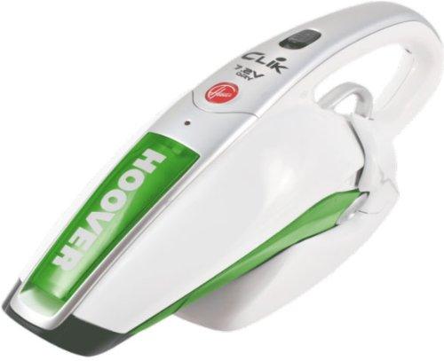 Hoover SC72DWG Sin bolsa Verde, Blanco - Aspiradora (Secar, Sin bolsa, 0,3 L, Verde, Blanco, 18 min, 7,2 V)