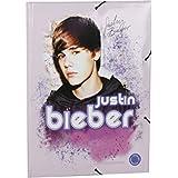 Justin Bieber Carpeta A4 musical con luz