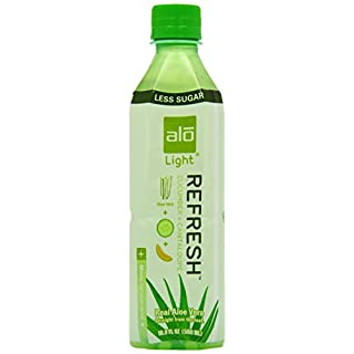 Alo Light Refresh Cucumber and C'Loup 500 ml (Pack of 12)