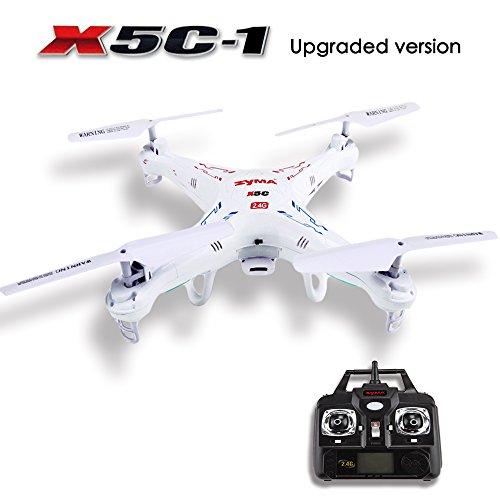 GBB Syma X5C-1 2.4G 6-Assi RC Telecomando Quadcopter Bianco