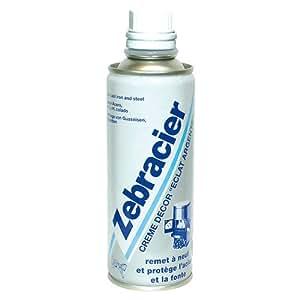 ZEBRACIER Zebracier Creme Decor Eclat Argent 250 ml