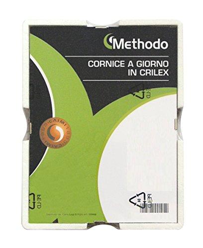 Methodo K900113 Cornice a Giorno in Crilex