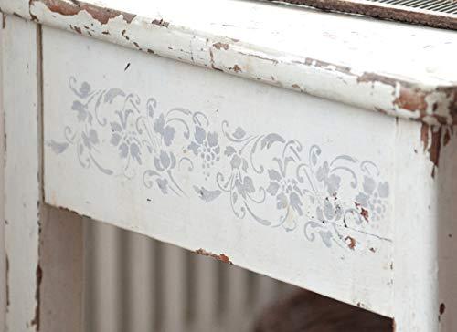 Jeanne d' Arc Living Schablone Stencil Template 'Grape Vines' Vintage Landhaus Shabby French...