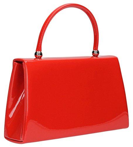 SwankySwans - Borsetta senza manici donna Rosso (rosso)