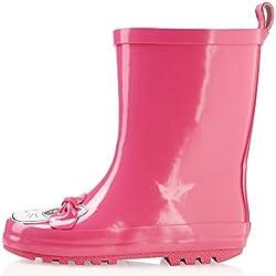 smileBaby botas de agua rosa/ gato 30/31