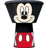 Micky Maus Geschirrset mit Müslischale, Teller und Trinkbecher - Mickey Mouse Geschirr Set