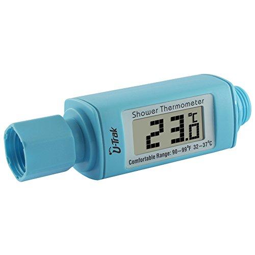 Badethermometer, Samber Wasserdichte Duschthermomter Digital LCD Thermometer für Kinder ältere Leute Haustiere (Blau)