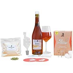 B Maker Kit Cerveza Descubrimiento Kit Conexiones Cerveza Artesanal congeladores y savoureuse para Principiantes offrez o réalisez Votre propre Cerveza (se Simplicidad a la casa Belgian Ale 1,5litro