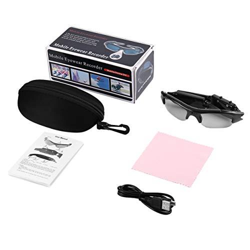 Tree-on-Life Sportkamerabrille und Mini-DVR Verdeckte Brillen, Kamera und Videorecorder sowie eine PC-Webcam 1080P für den Außenbereich