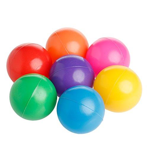 Kofun Ocean Ball, Bunter Spaß-Ball-Weiches Plastikozean-Baby-Babyspielzeug-Schwimmen-Pit-Spielzeug Idealer Weihnachtsgeburtstag Ozeankugeln Geschenk Für Kinder 50 Stück