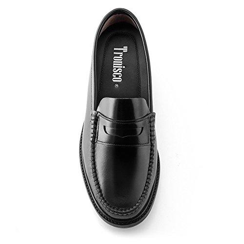 Scarpe da uomo che permettono di aumentare la statura fino a 7 cm. Modello Arosa (100% Scarpe Di Cuoio Italiane)