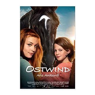 Spreadshirt Ostwind Aris Ankunft Filmplakat Poster 60x90 cm, Weiß