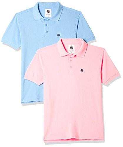 Amazon Brand – Symbol Men's Plain Regular Fit Polo (Pack of 2)