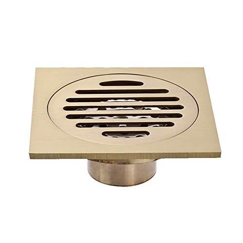 GL-bathroom Bad Bodenablauf Filter Dusche Abnehmbarer Bezug Messing für Bad Dusche WC Wäsche -