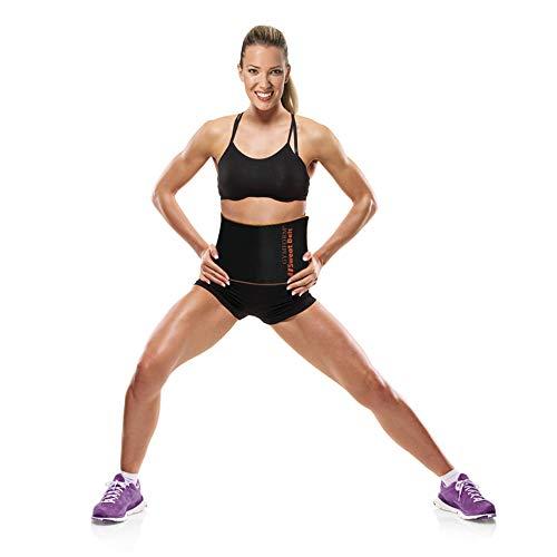 Gymform Sweat Belt 2 in 1 Bauchweg Gürtel und Training mit Hula Hoop von Best Direct