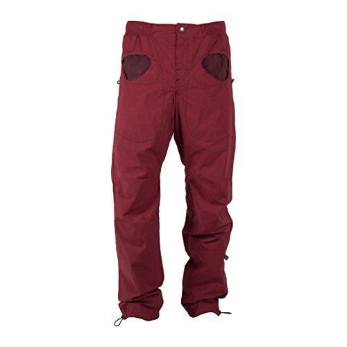 E9 Herren Kletterhose rot S