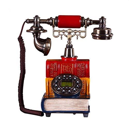 RMXMY Antike Europäische Amerikanische Telefon Mode Kreative Antike Retro Festnetztelefon Festnetztelefon