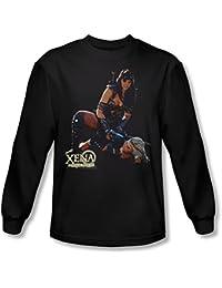 Xena: Warrior Princess - Männer in der Systemsteuerung Langarm-Shirt in Schwarz
