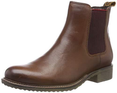 Tamaris Damen 1-1-25422-23 Chelsea Boots, Braun (Cognac 305), 39 EU