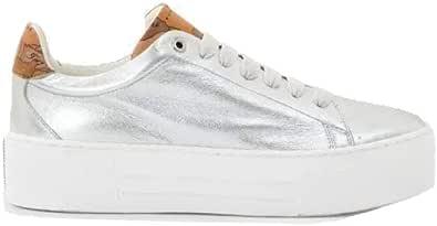 ALVIERO MARTINI Sneakers Nappa Laminato Colore Argento - ZP806016A0080
