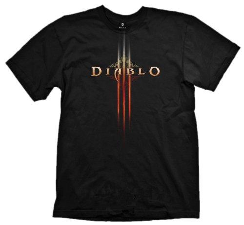 Diablo III T-Shirt - Logo, Grösse L E1019741-50 - Diablo T-shirt 3