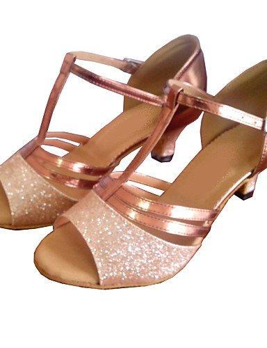 ShangYi Maßgefertigter Absatz Kunstleder/Glitter Latin/Modern/Salsa/StandardTanz  Schuhe Damen Multi Color