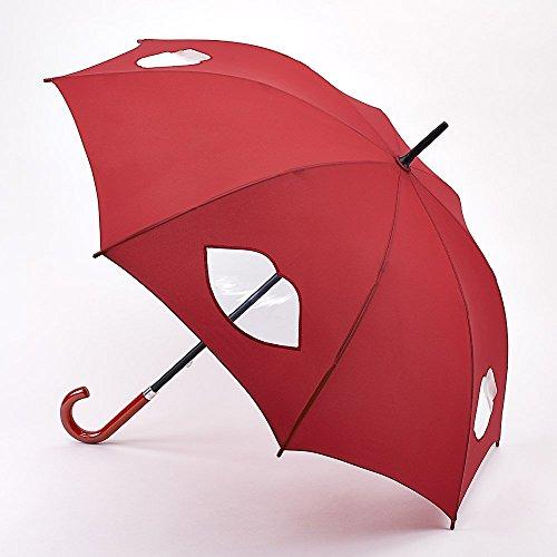 lulu-guinness-decoupe-levres-rouge-kensington-marche-parapluie-mesure-90-cm-de-long-fermee-et-106-cm