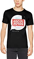 JACK & JONES Herren T-Shirt Jconoto Tee Ss Crew Neck