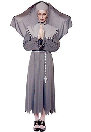 r Nonne unheimlich Halloween Kostüm ()