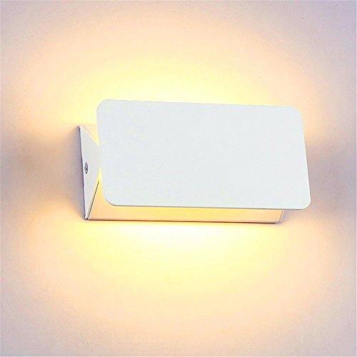 GYUH Lange Wand Licht Einfache Schlafzimmer Bett Wohnzimmer Esszimmer Gang Lichter, 10 W + 31 Cm + weißes Oberteil + warmes Licht LED