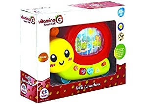 GLOBO- B/O Snail Mobile Try Me W/Light/Sound/TV 2Col (05331), (1)