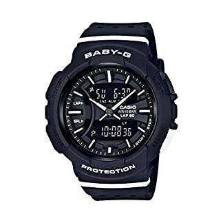 Casio Baby-g Analog-Digital Black Dial Women's Watch-BGA-240-1A1DR (B187)