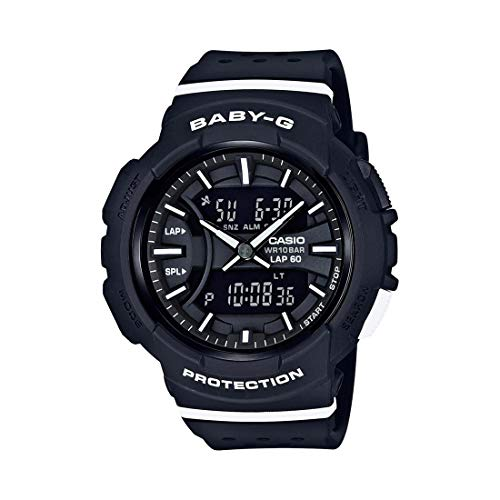 Casio Women's Baby G BGA240-1A1 Black Resin