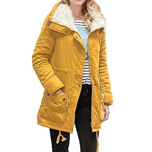 Logobeing Abrigos Mujer Invierno - Chaquetas Jersey Cardigan Mujer Talla  Grande Camisetas Mujer Manga Larga Sudadera b5ef4d8f737b