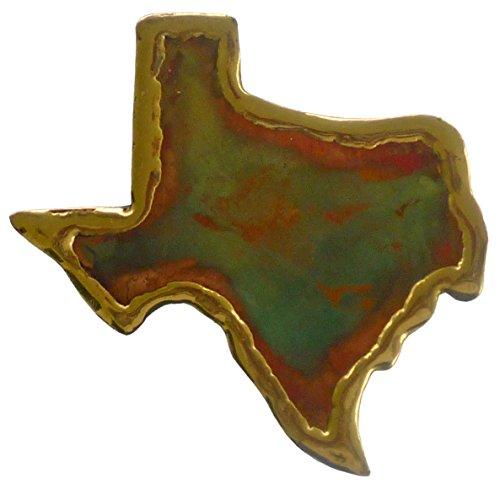 Keweenaw Gem und Geschenk, Inc. handgefertigt Kupfer Magnet Texas (Michigan Kupfer)