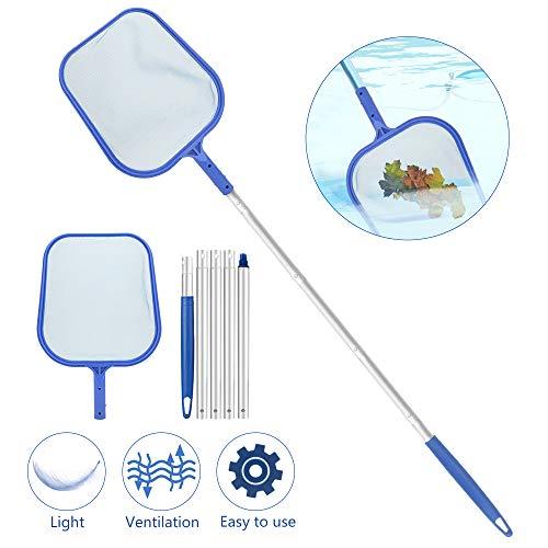 Yidenguk Recoge Hojas Recogehojas para Piscinas Pool Net Leaf Skimmer para La Limpieza De La Piscina...