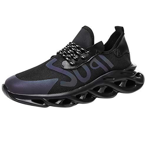 Sneaker Herren Sportschuhe Atmungsaktiv rutschfeste Turnschuhe Mesh Tuch Fitnessschuhe Dämpfung Leichtgewicht Freizeitschuhe Schuh- Breathable Outdoorschuhe