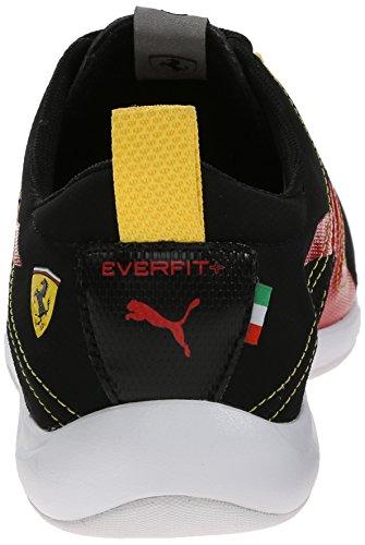 Puma Tech Everfit Ferrari 10 Lace-up Fashion Sneaker Black/Rosso Corsa