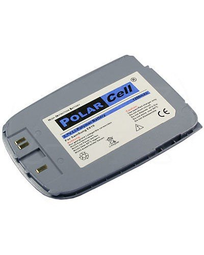cellePhone PolarCell Akku Li-Polymer für Samsung SGH-E610 - hellblau ( ersetzt BST2858KE )