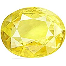 Gemstone Luxurious Gemstone Oval Cut Yellow Sapphire (Pukhraj) Stone 5.00 Ratti