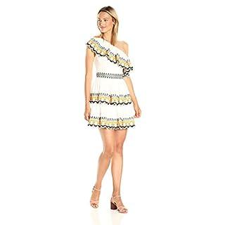 AMUR Women's Felicia Dress, White, 2
