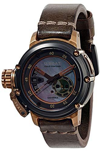 U-Boat Chimera Automatik Uhr, Bronze, Perlmutt, 43mm, Lim. Edition, 8069