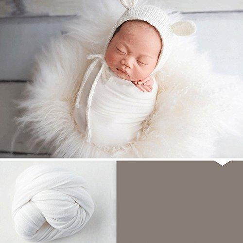 Neugeborenen Mutterschaft Props Baby Foto Requisiten Baby Kostüm Fotografie Prop Geeignet für Baby etwa 2-10 Monate alt (Weiß)