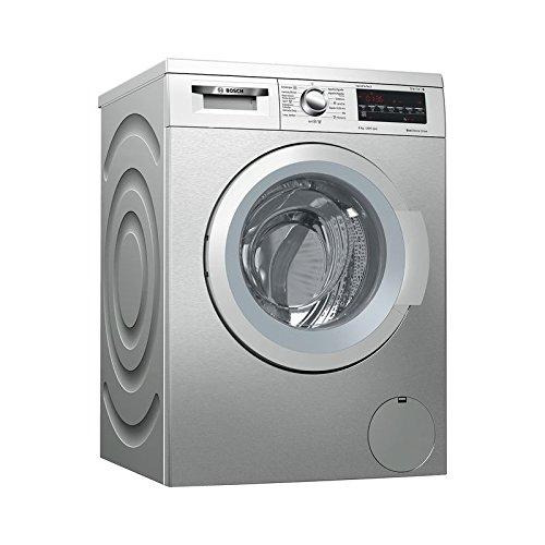 Bosch - Lavadora de carga Frontal WUQ2448XES - Acero Inoxidable - 8kg - A+++ -30%