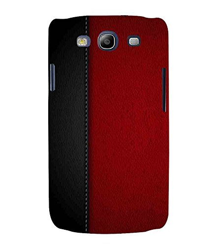 For Samsung Galaxy S3 Neo i9300i :: Samsung I9300I Galaxy S3 Neo :: Samsung Galaxy S III Neo+ I9300I :: Samaung Galaxy S3 Neo Plus black red leather ( black leather, red leather, leather background ) Printed Designer Back Case Cover By FashionCops