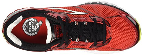 Brooks Aduro 3, Chaussures de Running Homme Rouge (HighRiskRed/Black/Nightlife)